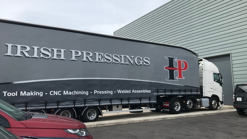 Irish Pressings will begin production next year on press tools and production parts