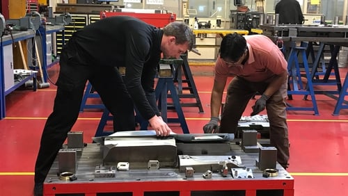 Irish Pressings manufactures components for major car manufacturers