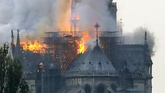 Major fire devastates Notre-Dame cathedral in Paris