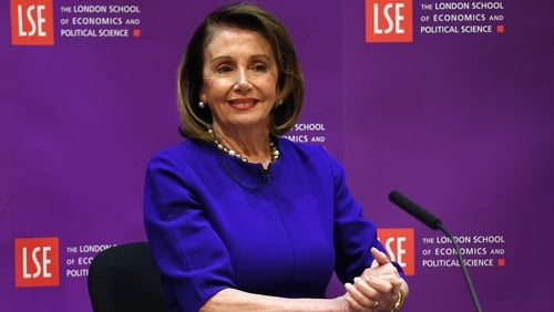 Nancy Pelosi said there would be no US-UK trade deal if the GFA was undermined