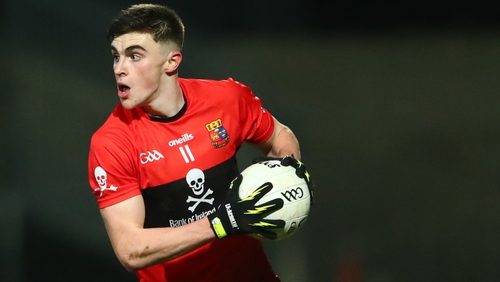 Sean O'Shea of UCC was named footballer of the year