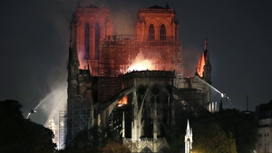 The cathedral lost its gothic spire, roof and precious artefacts in the 15 April blaze