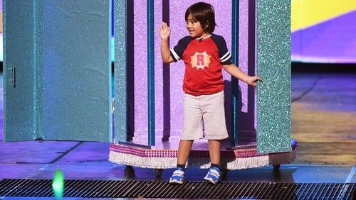 The $11m kid: toy reviewer Ryan from Ryan ToysReview. Photo: Kevin Winter/Getty Images