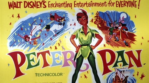 The Disney poster for 1953's Peter Pan. Photo:LMPC via Getty Images