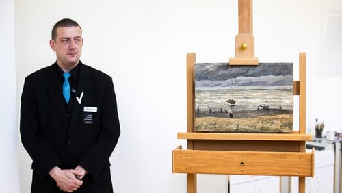 The paintings were recovered by Italian investigators in late September 2016