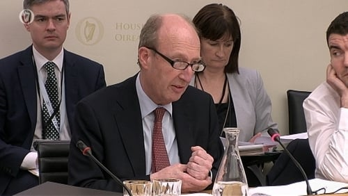 Shane Ross read the letter he received from the FAI into the record of today's meeting