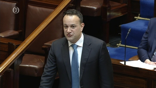 Leo Varadkar defended the Government's decision to delay the Cabinet discussion of the plan