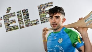Aaron Gillane at the launch of the 2019 John West Feile