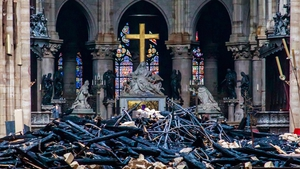 An AXA spokesman declined to estimate its potential liabilities associated with the damage caused by the Notre-Dame fire