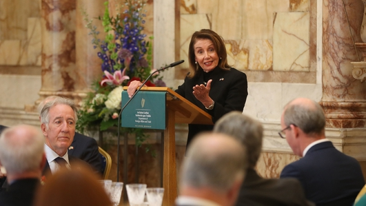 US Immigration policy discussed during Pelosi Congressional delegation visit to Dublin