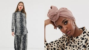 The label offers everything from headwear to dresses and jumpsuits.