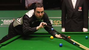 Michael Judge in action against Ryan Day at the World Snooker Championships back in 2008