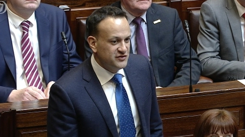 Leo Varadkar acknowledged the price of the plan yesterday and faced questions today