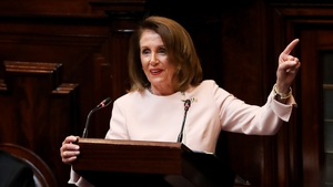 Speaker of the House Nancy Pelosi reiterated her opposition to a US/UK trade deal if the Good Friday Agreement is damaged