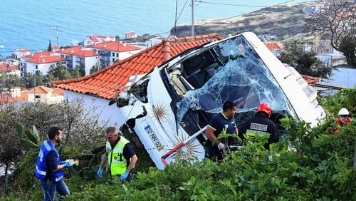 Most of the German tourists who died int he crash were aged in their 40s and 50s