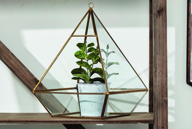 Pyramid terrarium, €38.60, Melodymaison.co.uk