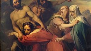 'Jesus Meets His Mother' by Jean Baptiste Van Eycken