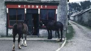 The way it used to be: Toomey's pub, Hollywood, Co Wicklow (now the Hollywood Inn). Photo: Hans Silvester/Gamma-Rapho via Getty Images