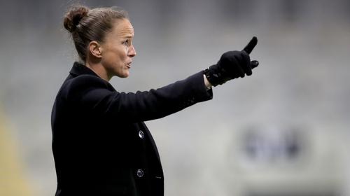Former England defender Stoney has been the women's side's coach since they turned professional in June 2018