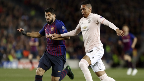 Chris Smalling was subjected to racist abuse after Man United's Champions League exit