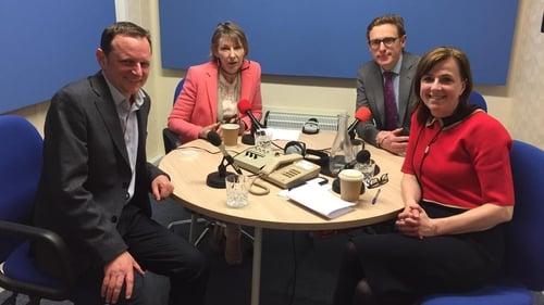 This week Aine Lawlor is joined by Political Correspondent Mícheál Lehane, Political Coverage Editor David Murphy and reporter Edel McAllister.