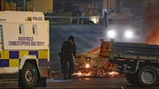 Shots were fired towards PSNI officers during the disturbances