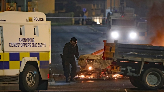 29 year old woman shot dead during rioting in Derry