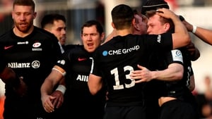 Saracens are bidding for their third title