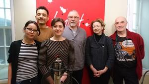 L-R Milena Rytelewska, Rafael Mendes, Simone Sav, Marc Gijsemans, Olivia O'Leary and Mark Granier