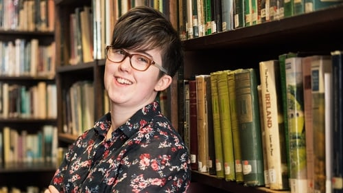 Lyra McKee was standing next to a police vehicle on the Creggan estate when she was shot on Thursday night