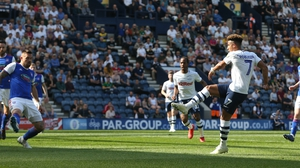 Callum Robinson scored twice and created two goals for Preston