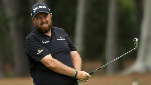 Shane Lowry holds a one-stroke lead