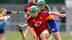 Claire Stakelum of Tipperary tracks Down's Alannah Savage
