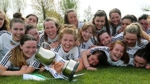 Kildare rejoice with the trophy