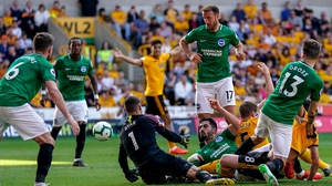 Brighton rode their luck at times at Molineux