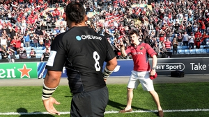 """The incident following the Champions Cup semi-final at the Ricoh Arena on Saturday involved a spectator wearing a Munster jersey"""