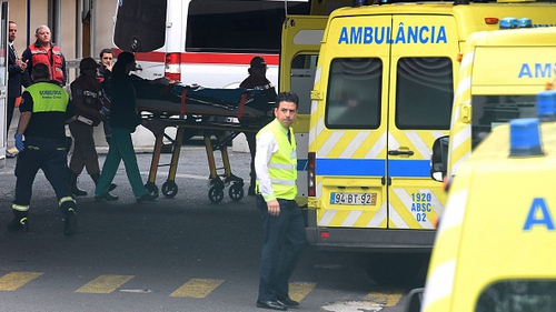 A group of 12 Germans who were injured in a deadly Madeira bus crash headed home aboard a medically-equipped military plane