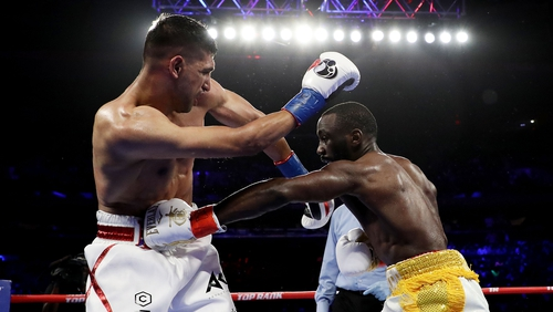 """""""Terence is a great fighter, you know I'm not taking anything away from him. I now realise why he's one of the best pound-for-pound fighters in the world"""""""