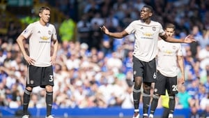 Manchester United were soundly beaten at Goodison