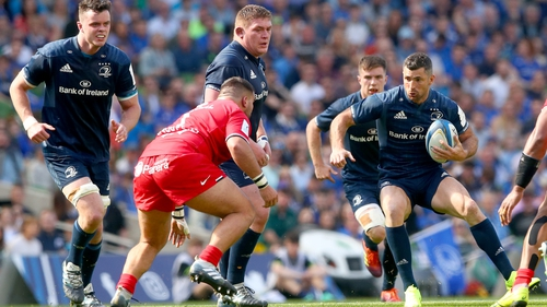Rob Kearney put in another solid showing for the champions