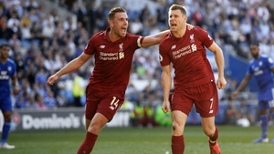 James Milner slotted home from the spot