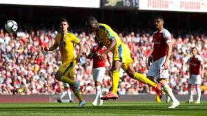 Christian Benteke's goal helped Crystal Palace to stun Arsenal