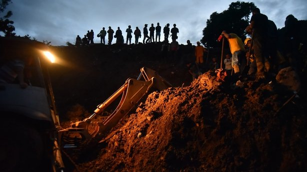 Death toll rises to 20 in Colombia mudslide