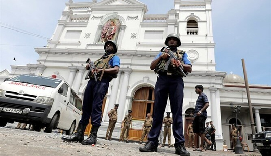 Explosions in Sri Lanka