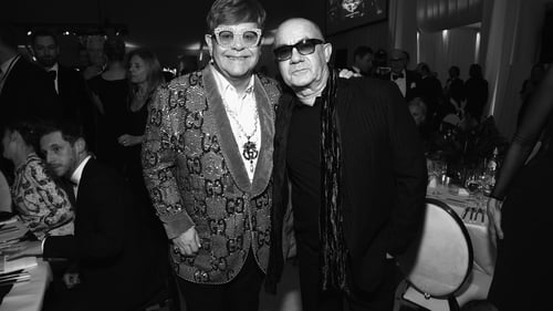 Elton John and Bernie Taupin in a recent picture