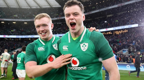 Dan Leavy and James Ryan were outstanding for Ireland and Leinster in 2018