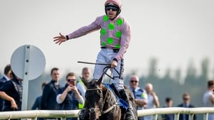 Ruby Walsh onboard Burrows Saint