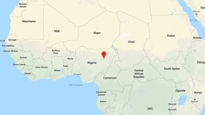 The incident happened during an Easter procession in Gombe, Nigeria (Pic: Google Maps)