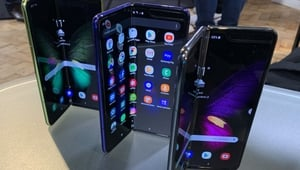 The Samsung Galaxy Fold smartphone will be released in September despite trade dispute