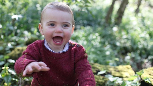 Prince Louis: Catherine's pictures mark first birthday